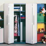 шкаф-гармошка в детской комнате
