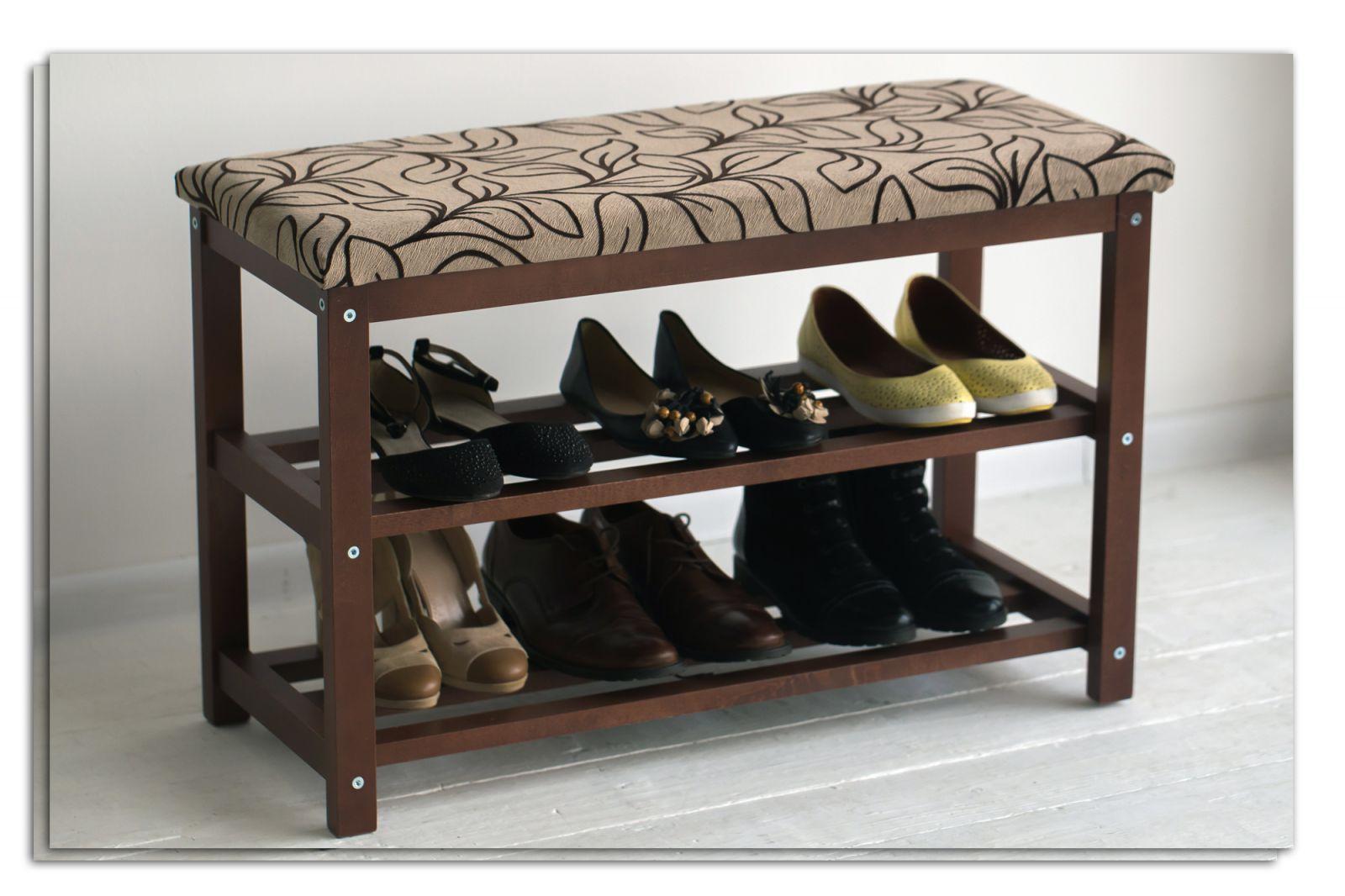 фото скамейки с обувными отделениями