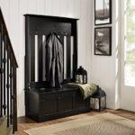 скамейка черного цвета