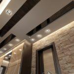 потолок в современном стиле