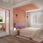 спальня по фэншую с большой кроватью