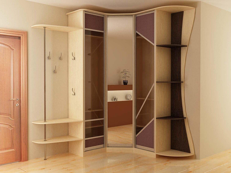 зеркальные вставки в шкафу-купе