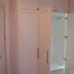 белый цвет шкафа в интерьере