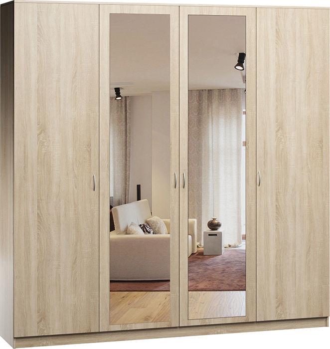 зеркальные двери в шкафу