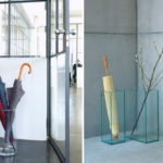 зонтница из стекла