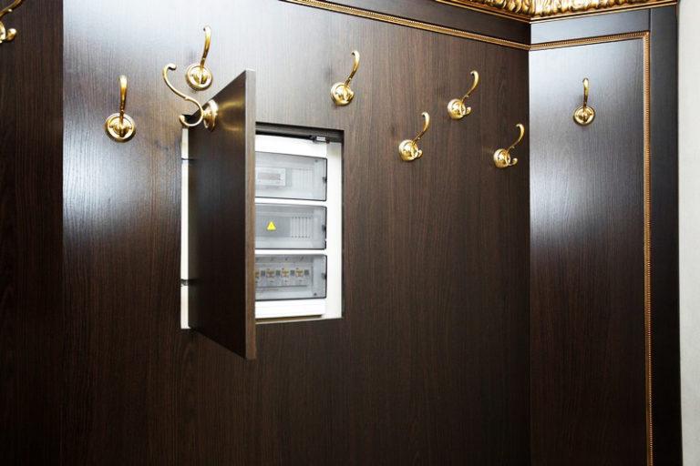 Фото дизайна если в коридоре холодильник ценится высокую