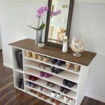 Шкаф для обуви в скандинавском стиле.