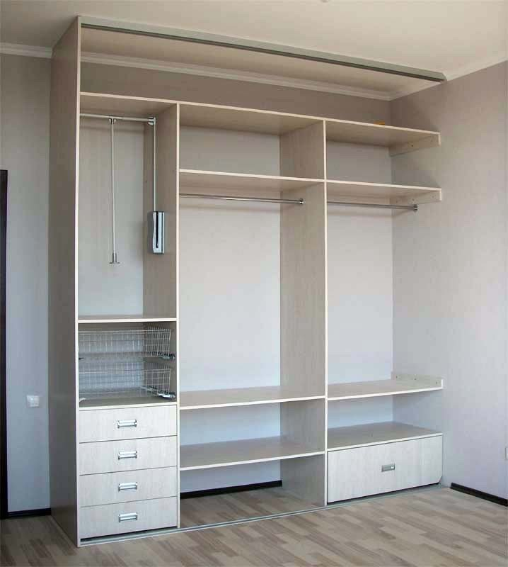 Фото встроенного шкафа в прихожую своими руками