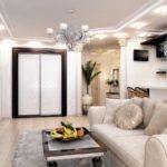 белый дизайн квартиры