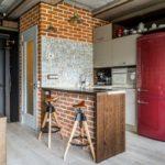 дизайн квартиры лофт