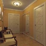 потолочная люстра в коридоре