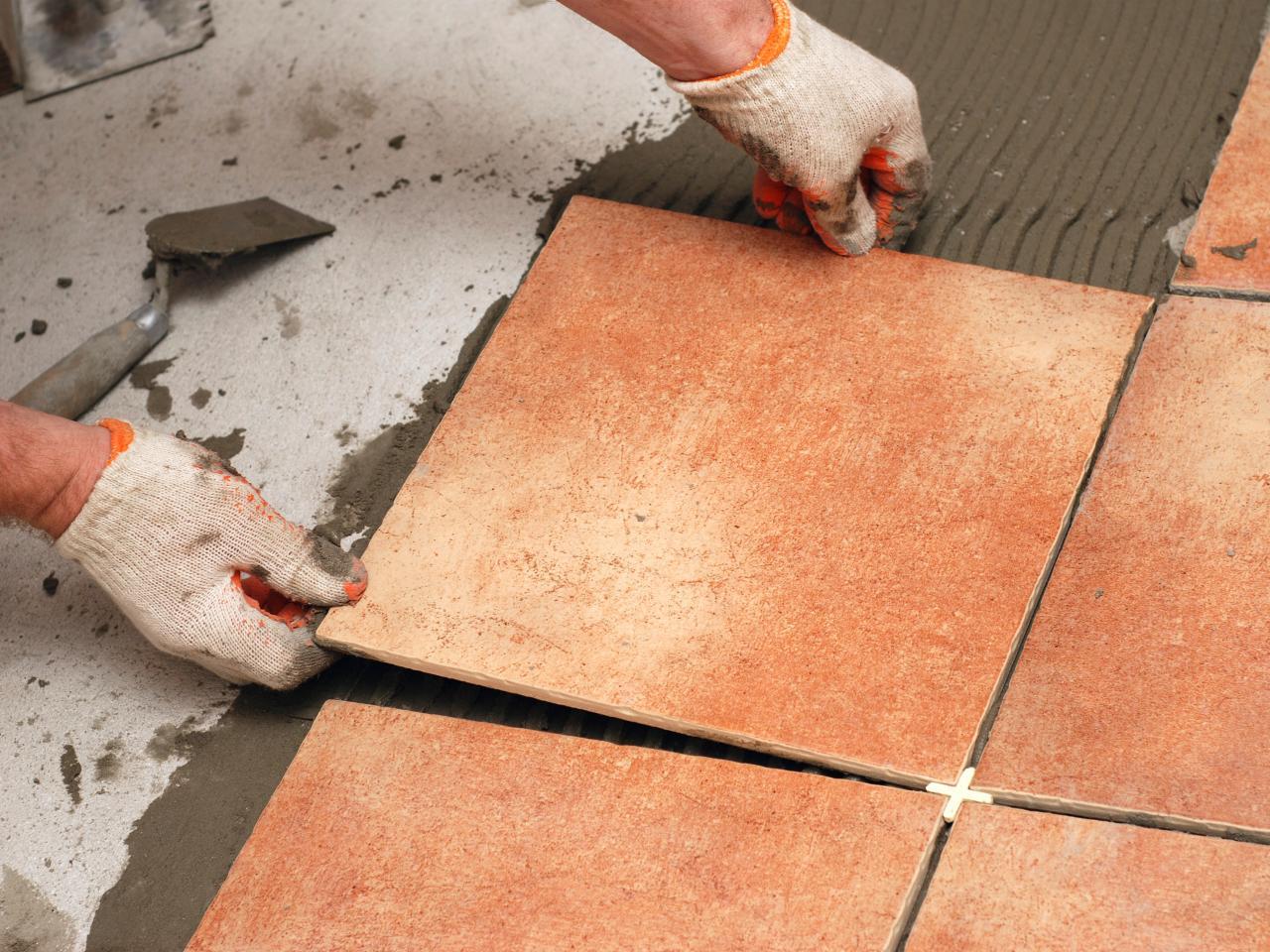 кладка плитки на цемент
