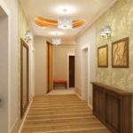 комбинированные обоев в современном стиле дома