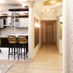 дизайн квартиры кухни прихожей
