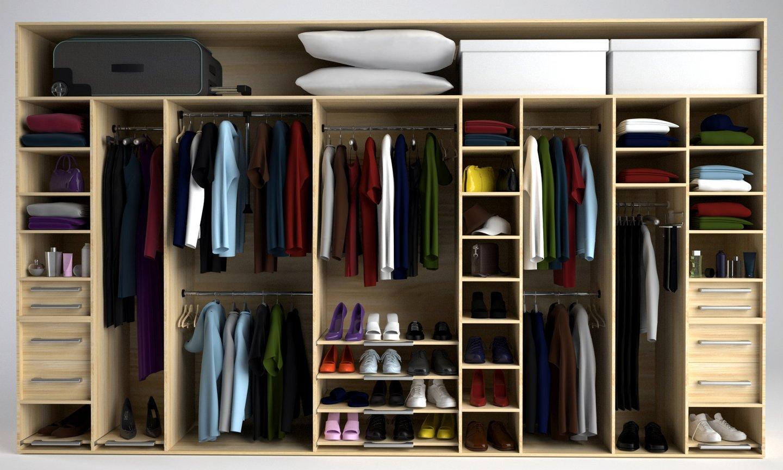 Фото наполнения шкафа для прихожей