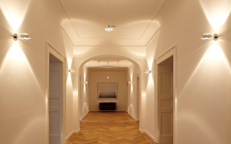 настенные бра в коридоре