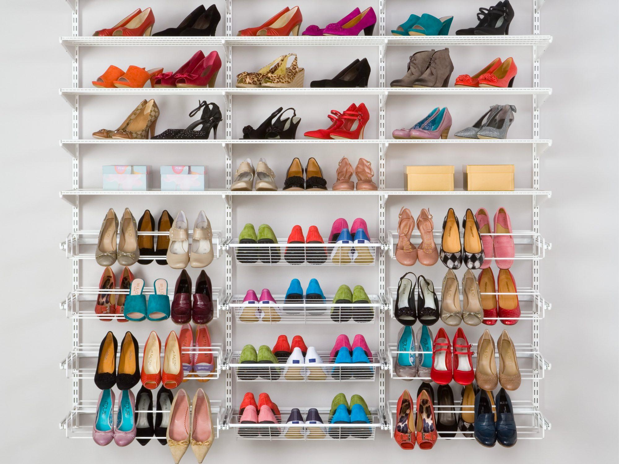 Обувной стенд для прихожей