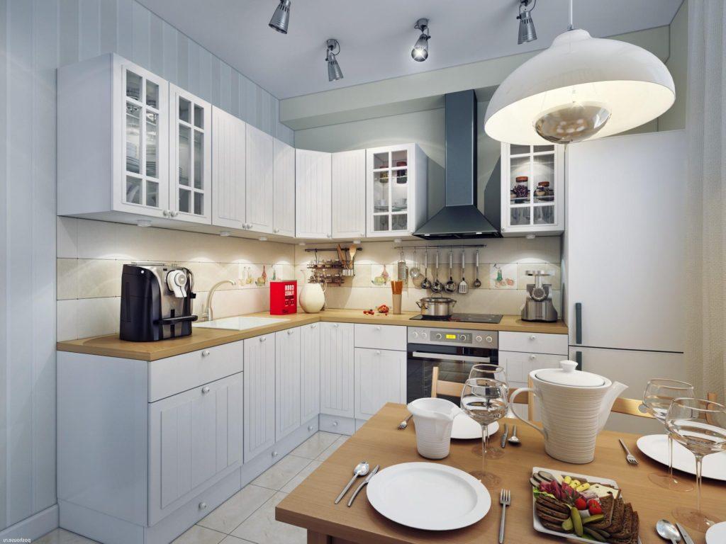 правильное освещение в кухне
