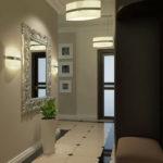 подвесные люстры в маленький коридор