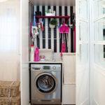 стиральная машинка в современном стиле