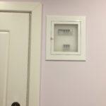 светлый щиток в доме