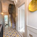 узорная плитка в коридоре