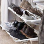 Выдвижная полка для хранения обуви