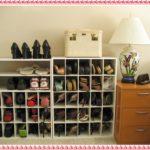 обувница с множеством полок