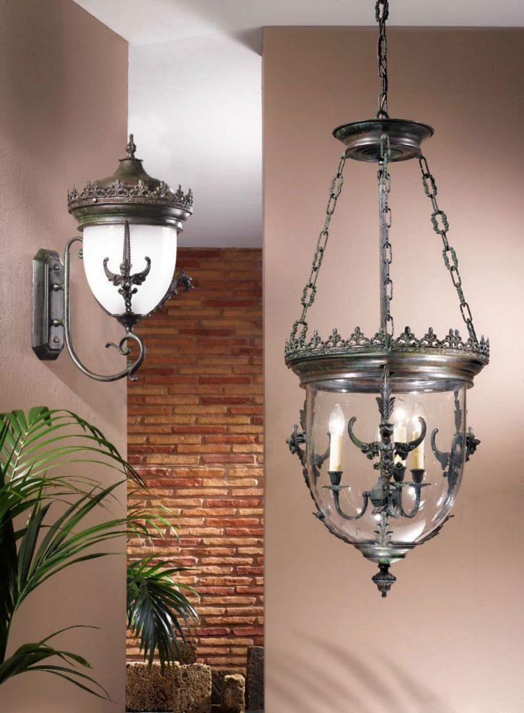 светильник в виде фонаря