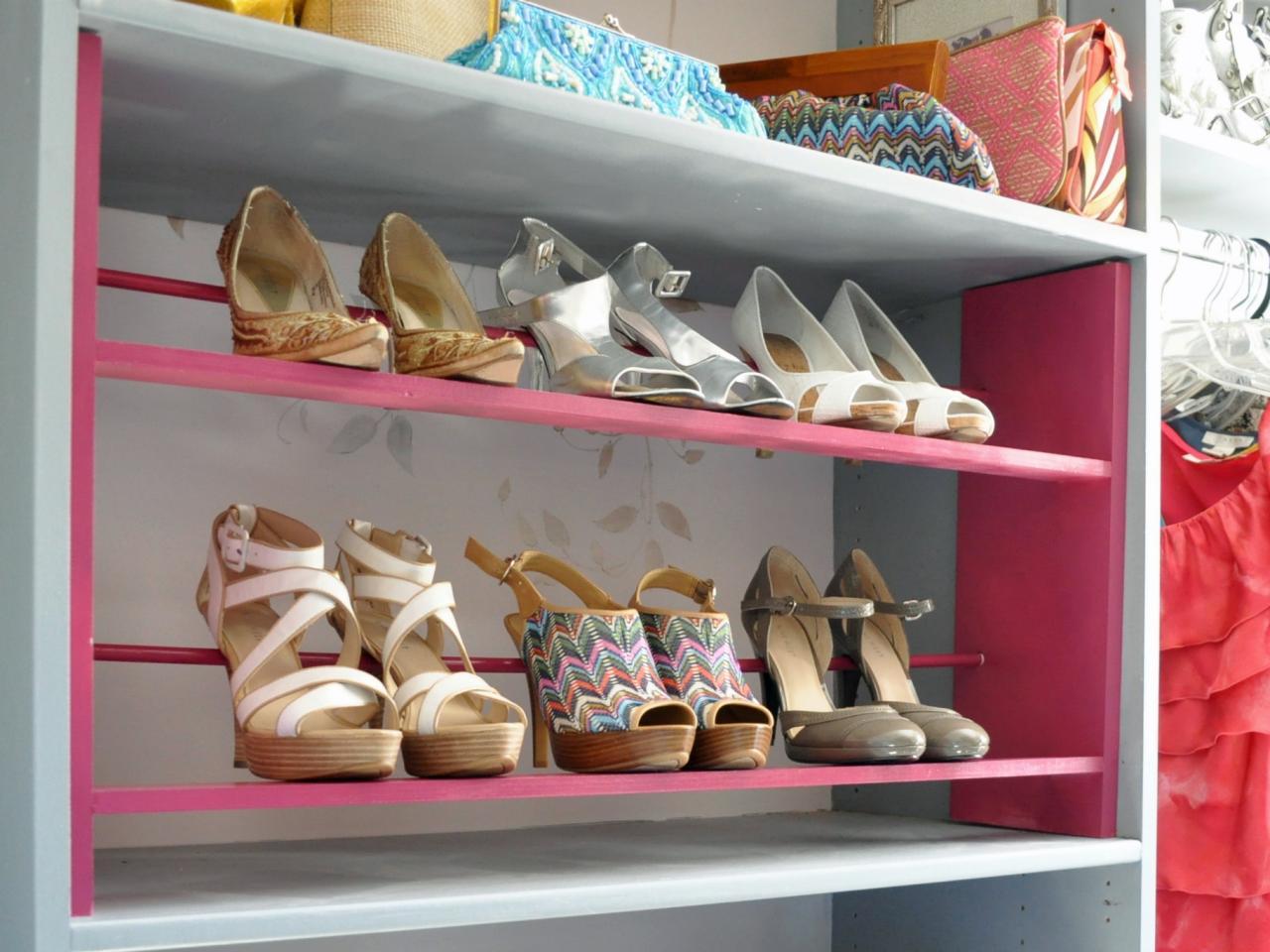 Обувница своими руками для туфель