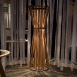 декор из бамбуковых палок