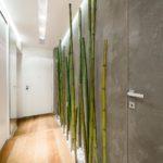 бамбук в дизайне интерьера прихожей