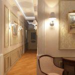 освещение в коридоре в виде бра