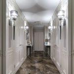 плитка в узком коридоре