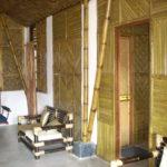 отделка из бамбука