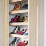 вертикальная обувница